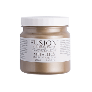 Vintage Gold Fusion Mineral Paint