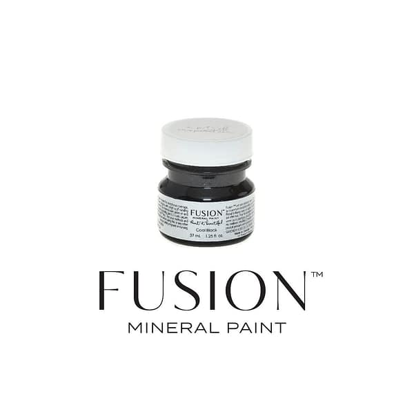 Coal Black 37ml Fusion Mineral Paint