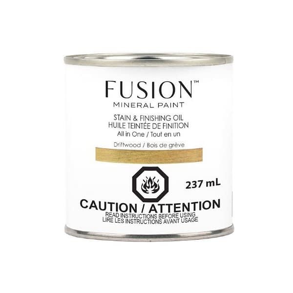 Fusion Stain and Finishing Oil Driftwood - ARTSANS