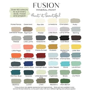 PINTURES - FUSION MINERAL PAINT