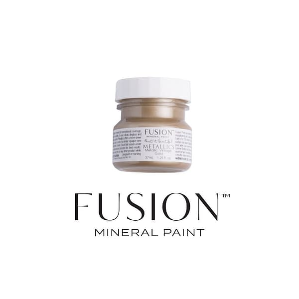 Vintage Gold 37ml Fusion Mineral Paint