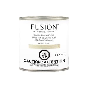 Fusion Stain and Finishing Oil White - ARTSANS