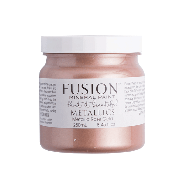 Rose Gold Fusion Mineral Paint