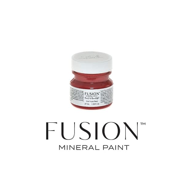 Fort York Red 37ml Fusion Mineral Paint