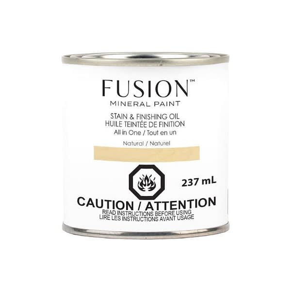 Fusion Stain and Finishing Oil Natural - ARTSANS