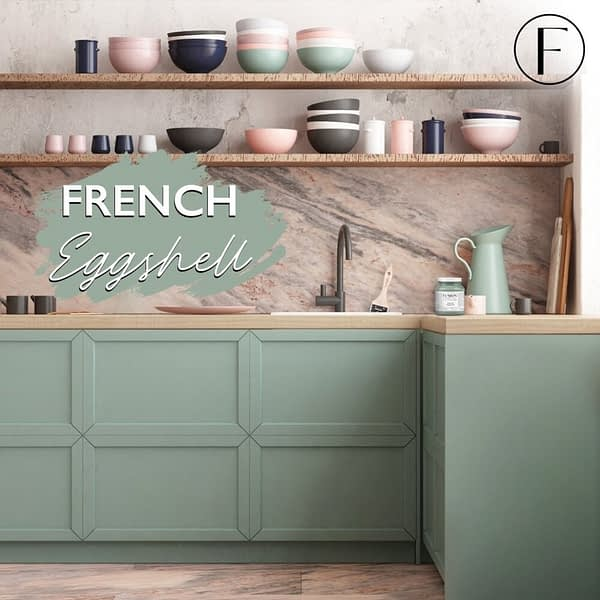Fusion Mineral Paint French Eggshell Lifestyle