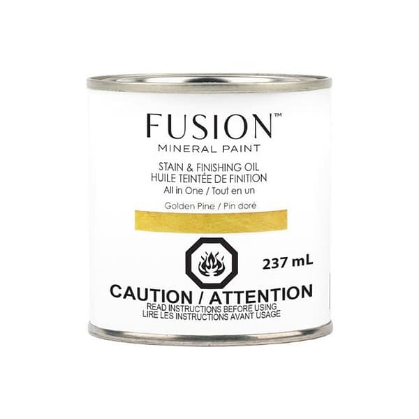 Fusion Stain and Finishing Oil Golden Pine - ARTSANS