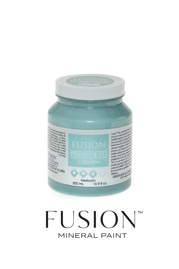 Heirlom fusion mineral paint