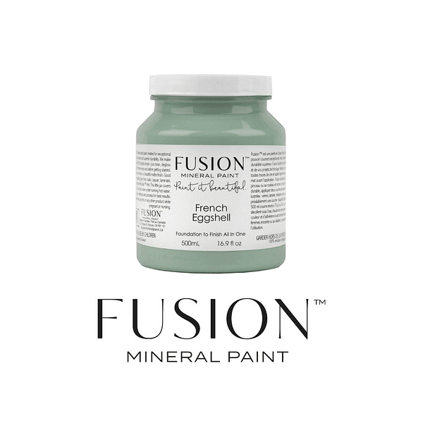 French Eggshell Fusion MINERAL PAINT - ARTSANS