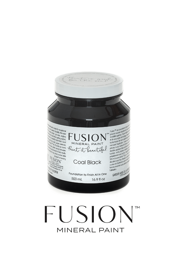 Coal black Fusion Mineral Paint