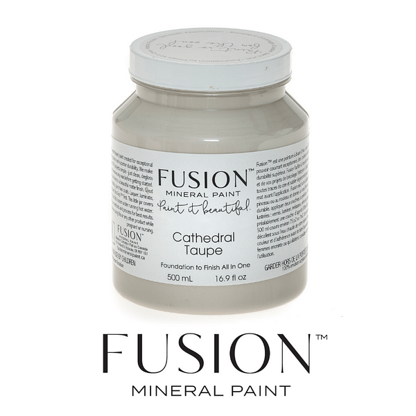 Cathedral Taupe Fusion Mineral Paint - ARTSANS