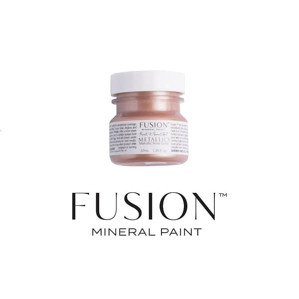 Rose Gold 37ml Fusion Mineral Paint